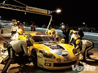 Option #6: Limit the equipment allowed to be carried over the wall. At Le Mans and in ALMS, limited air wrenches can be used during a pit stop. The idea is to slow down the process to make sure everything is done correctly and safely.